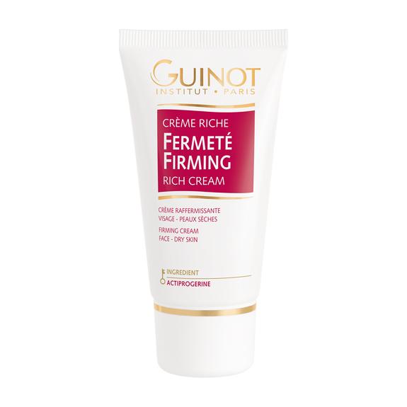 Crème riche fermeté de votre institut de beauté Guinot à Pont l'Abbé