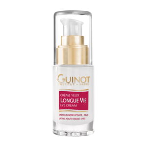 Crème yeux longue vie proposée par votre esthéticienne de Pont l'abbé Guinot