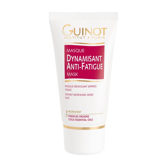 Masque dynamisant anti-fatigue chez votre esthéticienne Guinot à Pont l'Abbé